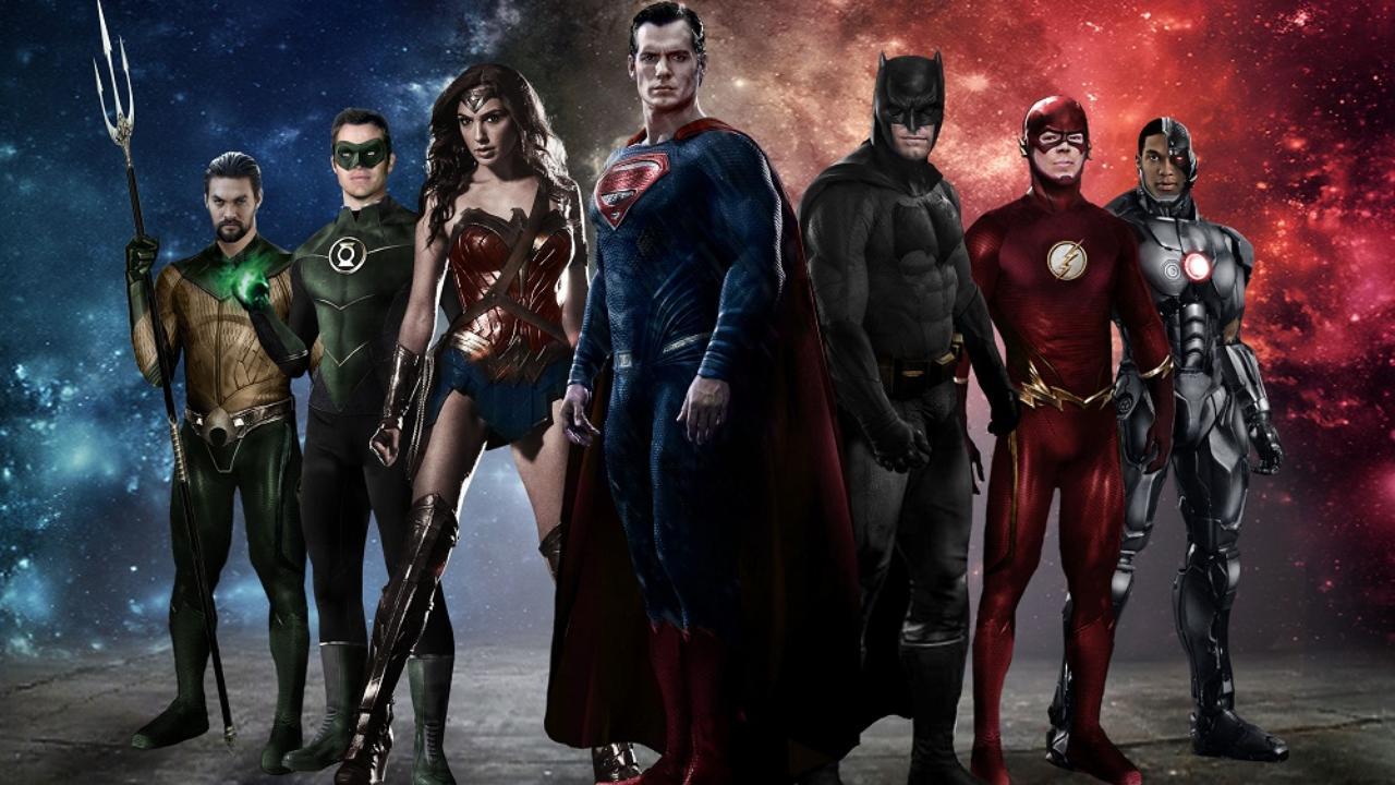 Justice League Backgrounds