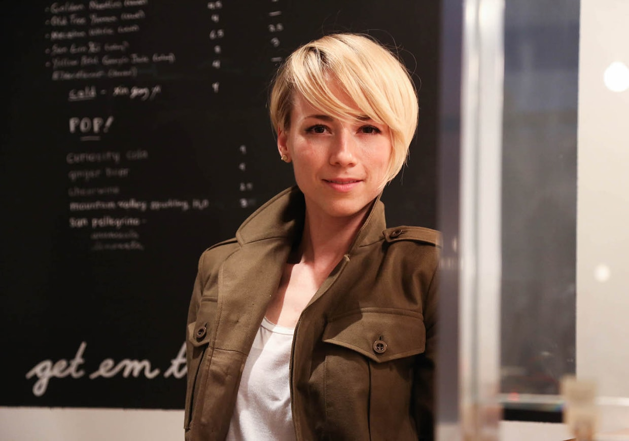 Karine Vanasse HQ wallpapers