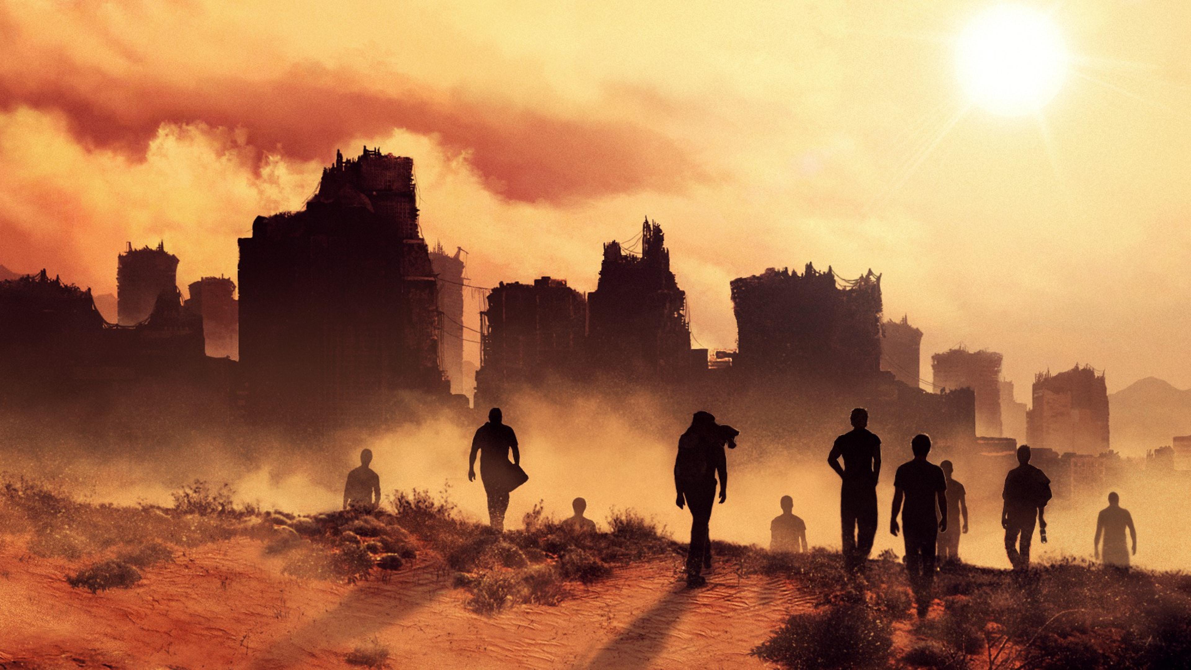 Maze Runner: Scorch Trials HQ wallpapers