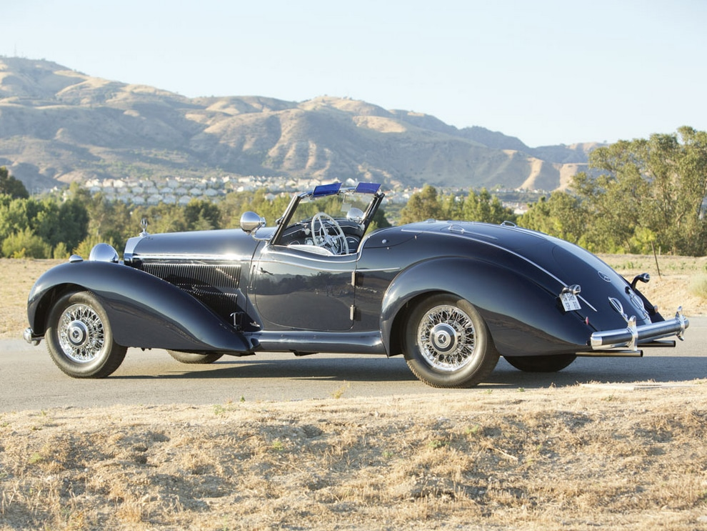 Mercedes-Benz 540K Special Roadster HQ wallpapers
