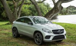 Mercedes-Benz GLE coupe background