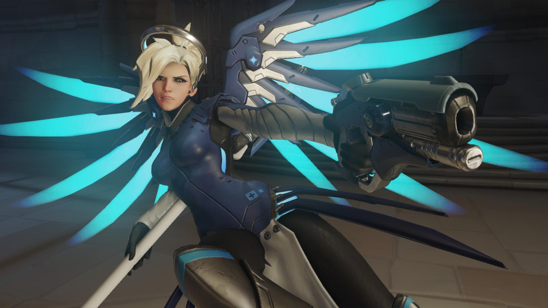 Overwatch : Mercy HQ wallpapers