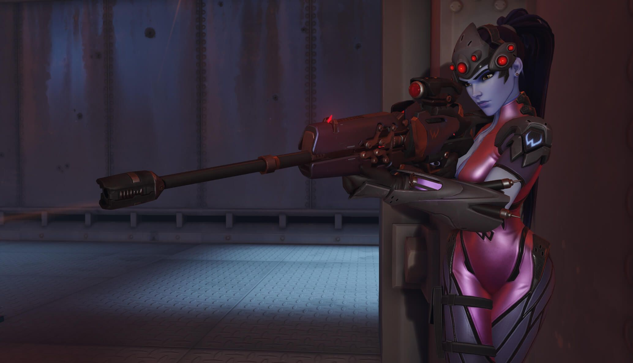 Overwatch : Widowmaker Desktop wallpapers