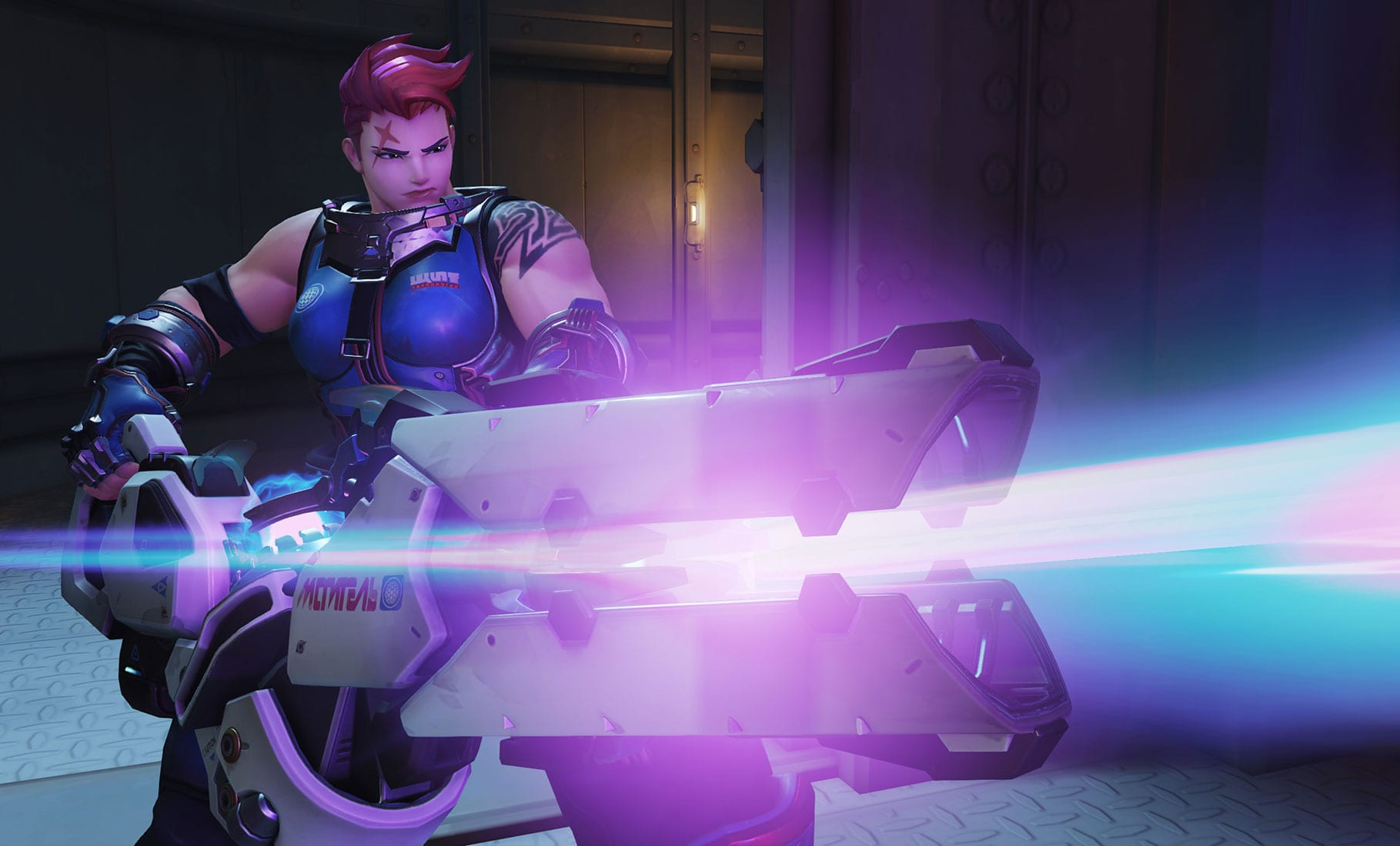 Overwatch : Zarya HQ wallpapers