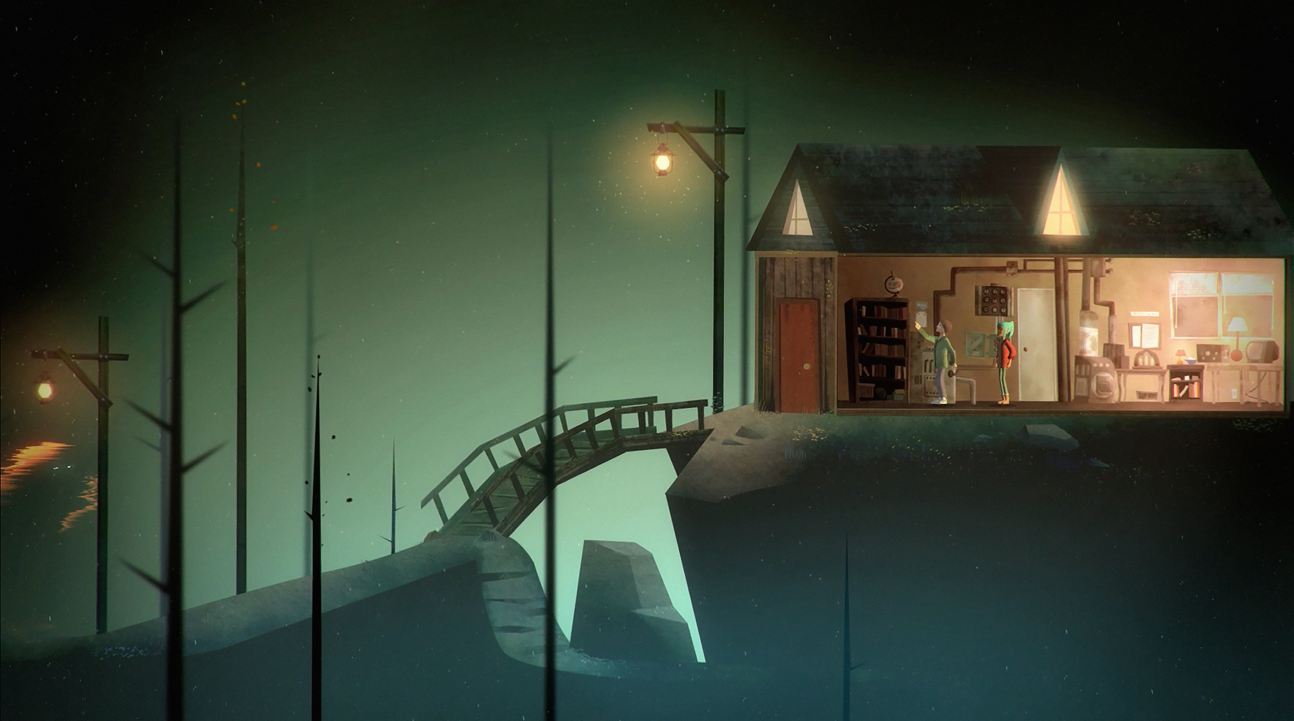 Oxenfree HQ wallpapers