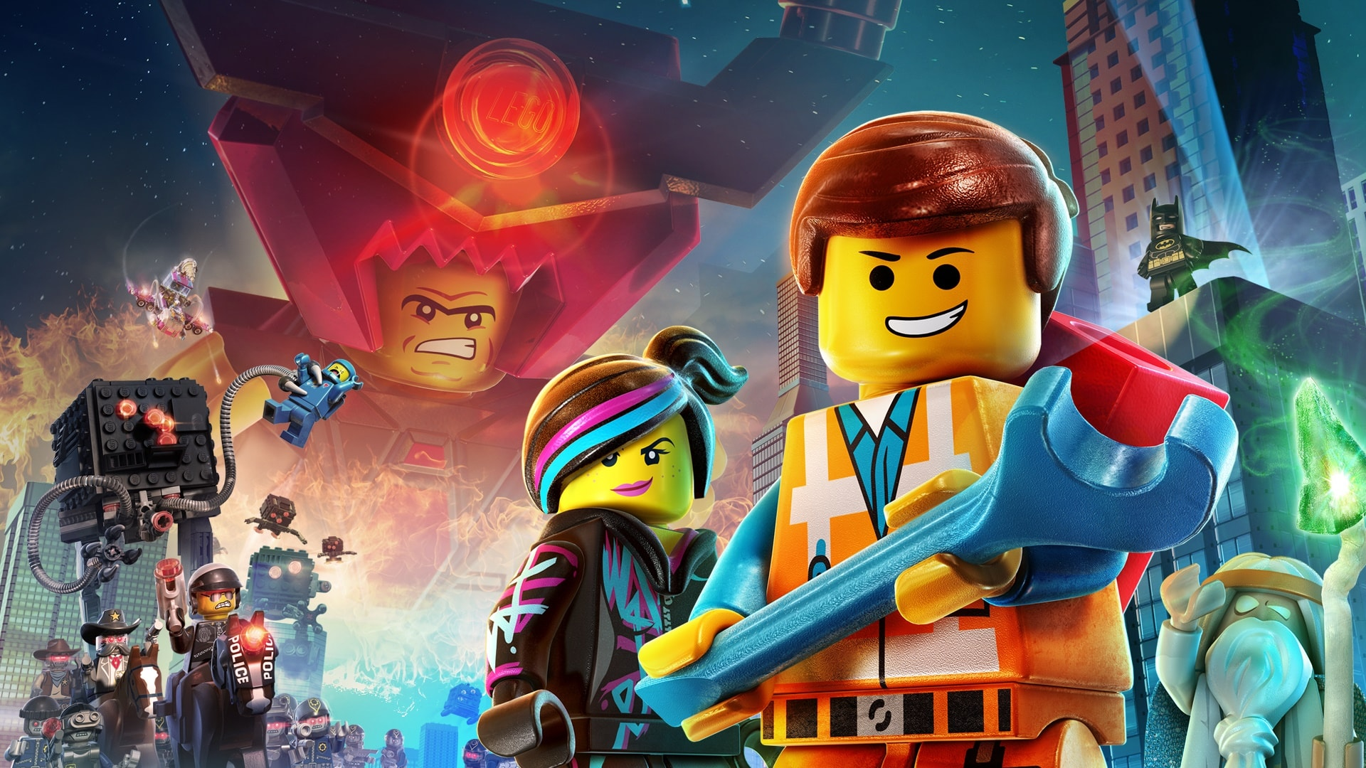 The Lego Movie HQ wallpapers