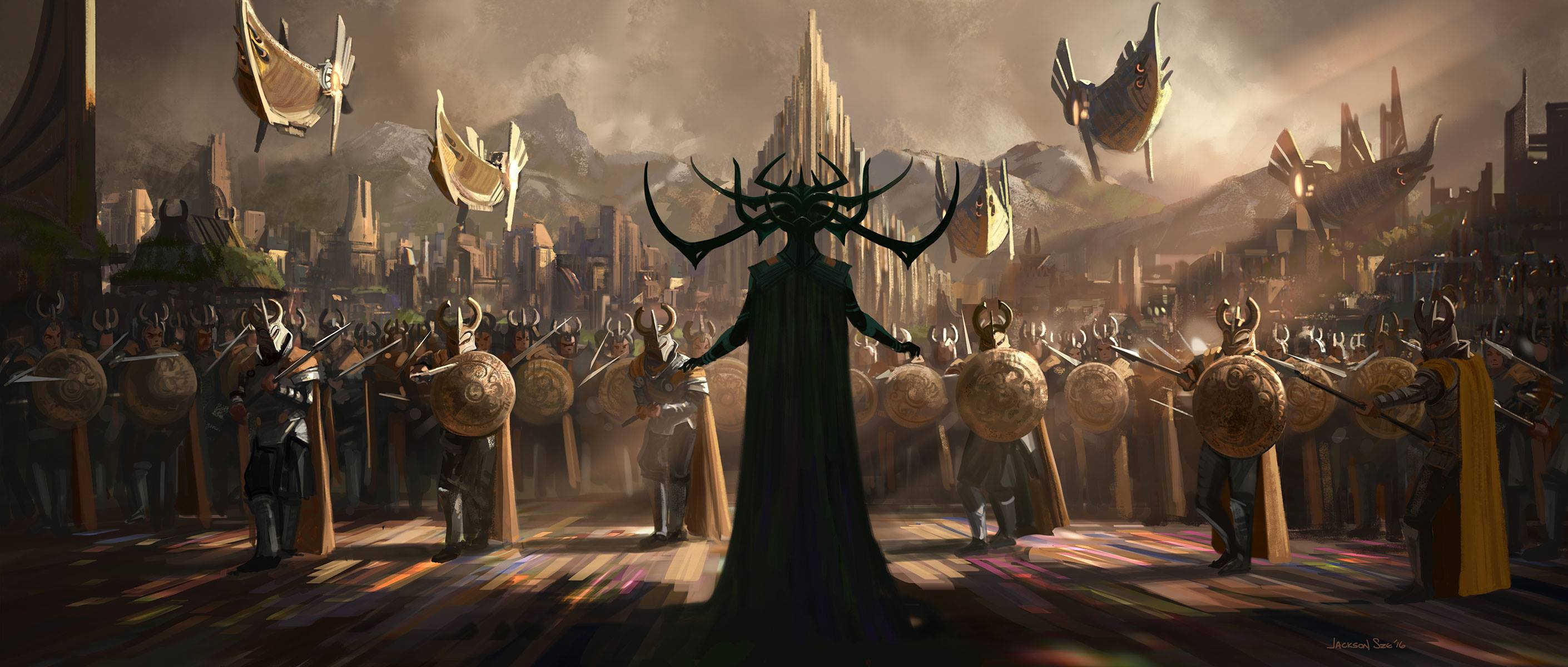 Thor: Ragnarok Background