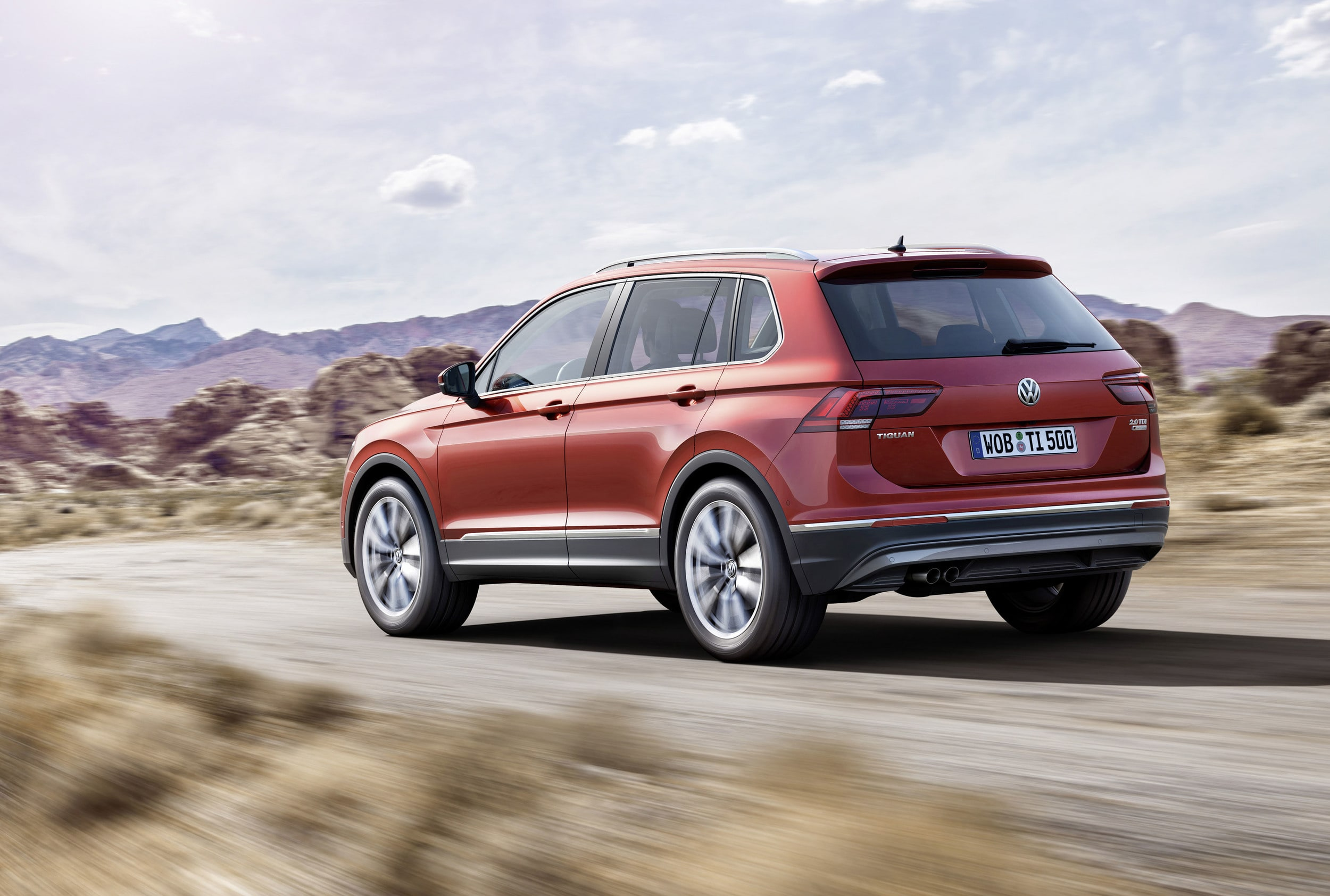 Volkswagen Tiguan 2 HQ wallpapers