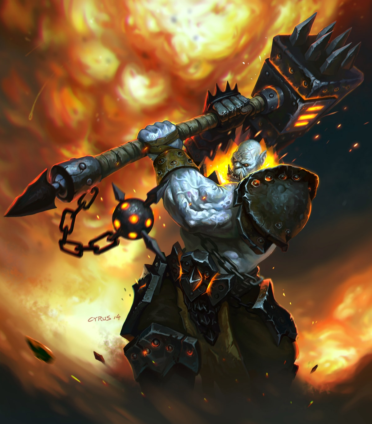 WOW: Blackhand Background