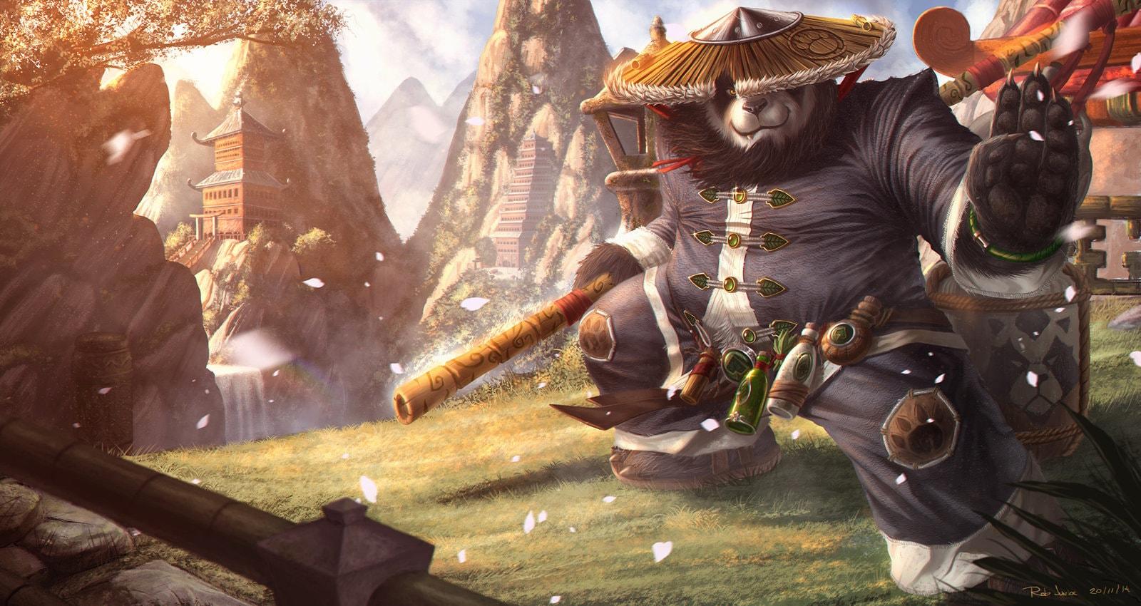 WOW: Chen Stormstout Background