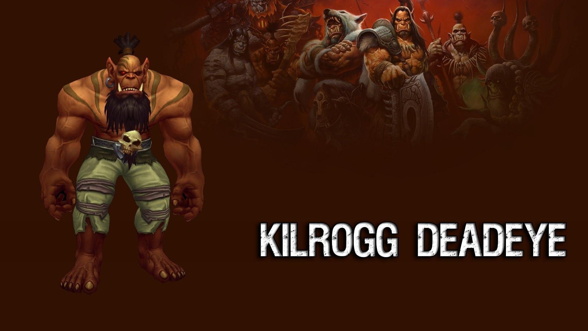 WOW: Kilrogg Deadeye Background