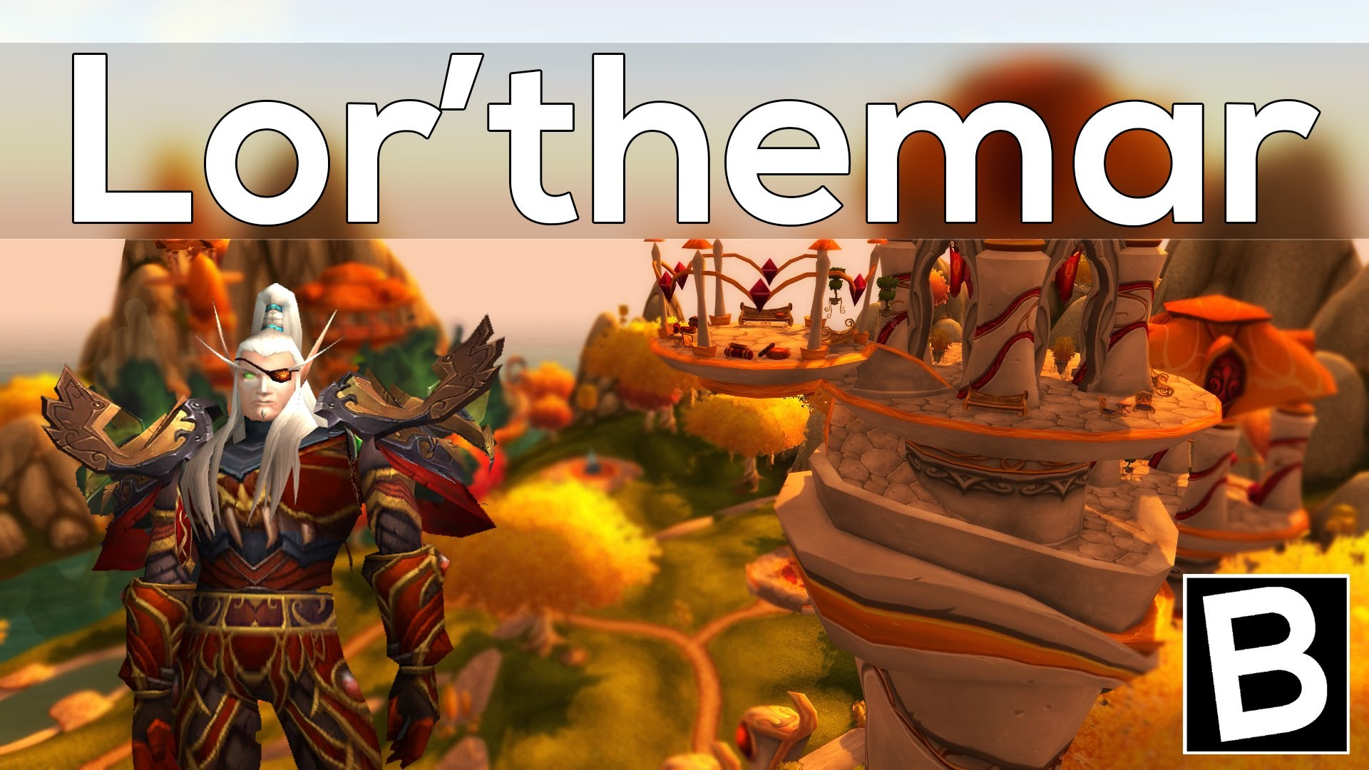 WOW: Lor'themar Theron Desktop wallpapers
