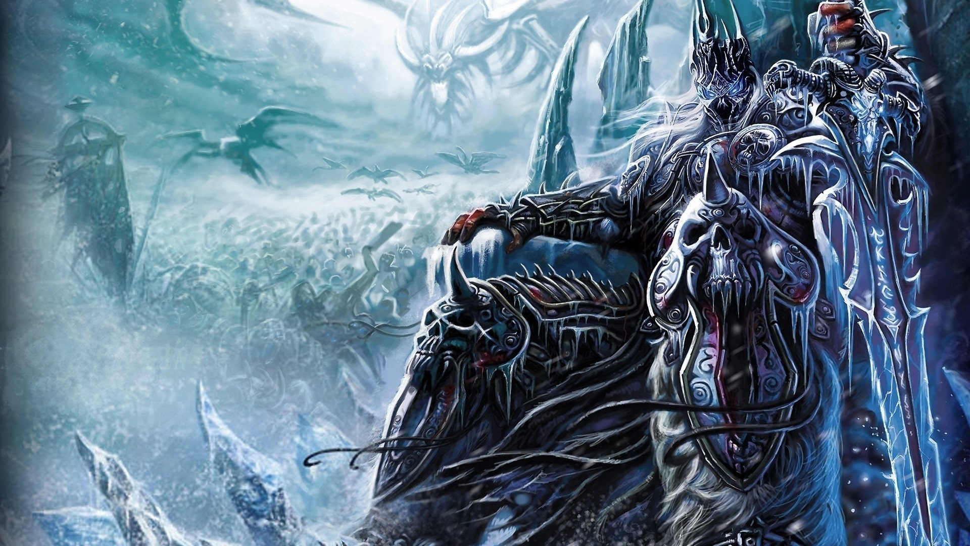 WOW: The Lich King HQ wallpapers
