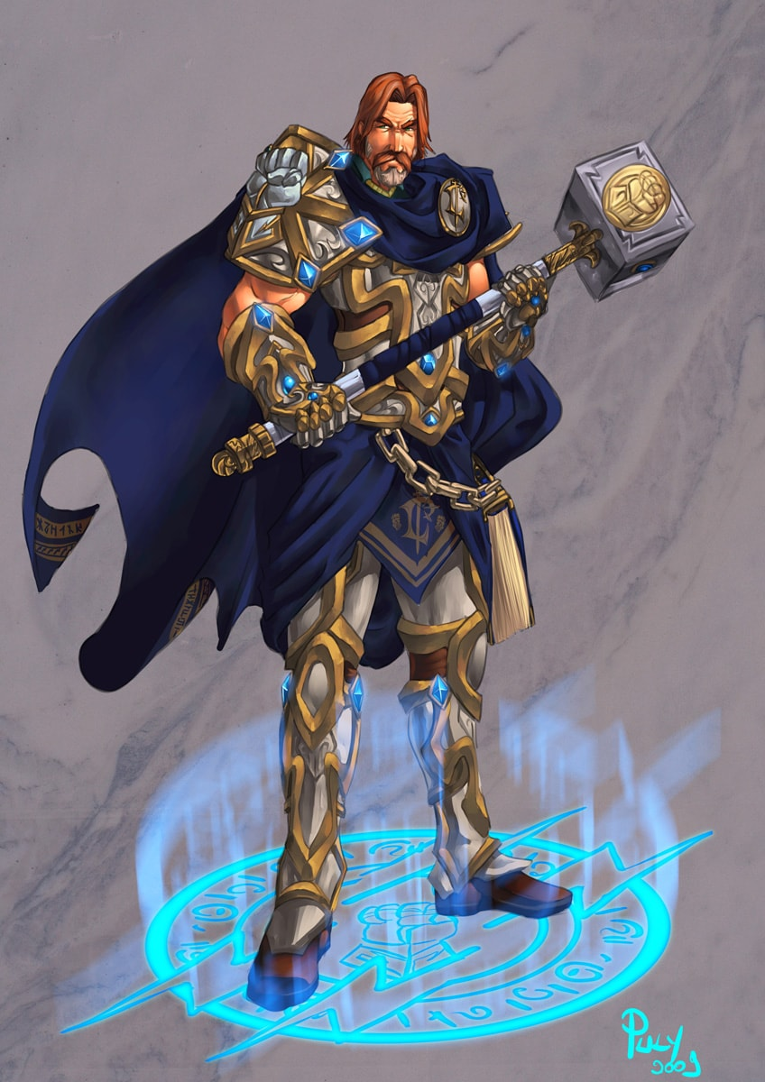 WOW: Uther the Lightbringer HD pics
