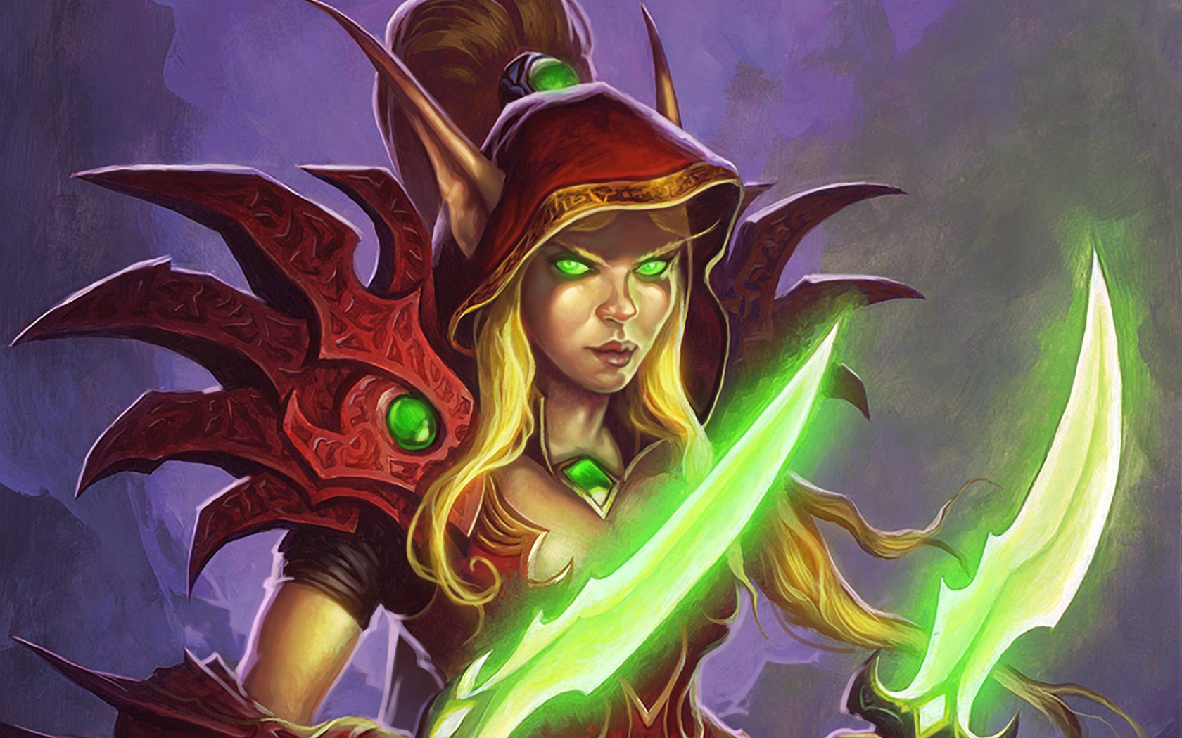 WOW: Valeera Sanguinar HQ wallpapers