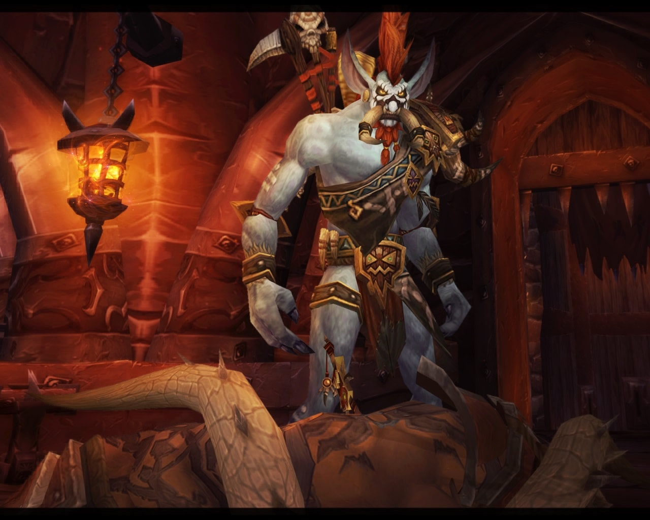 WOW: Vol'jin Desktop wallpapers