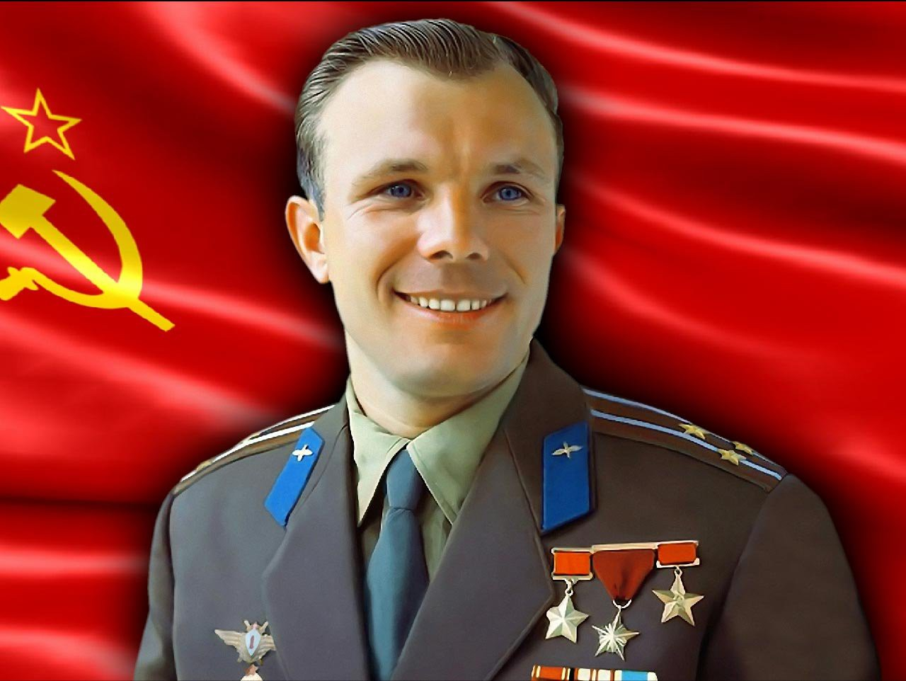 Yuri Gagarin HQ wallpapers