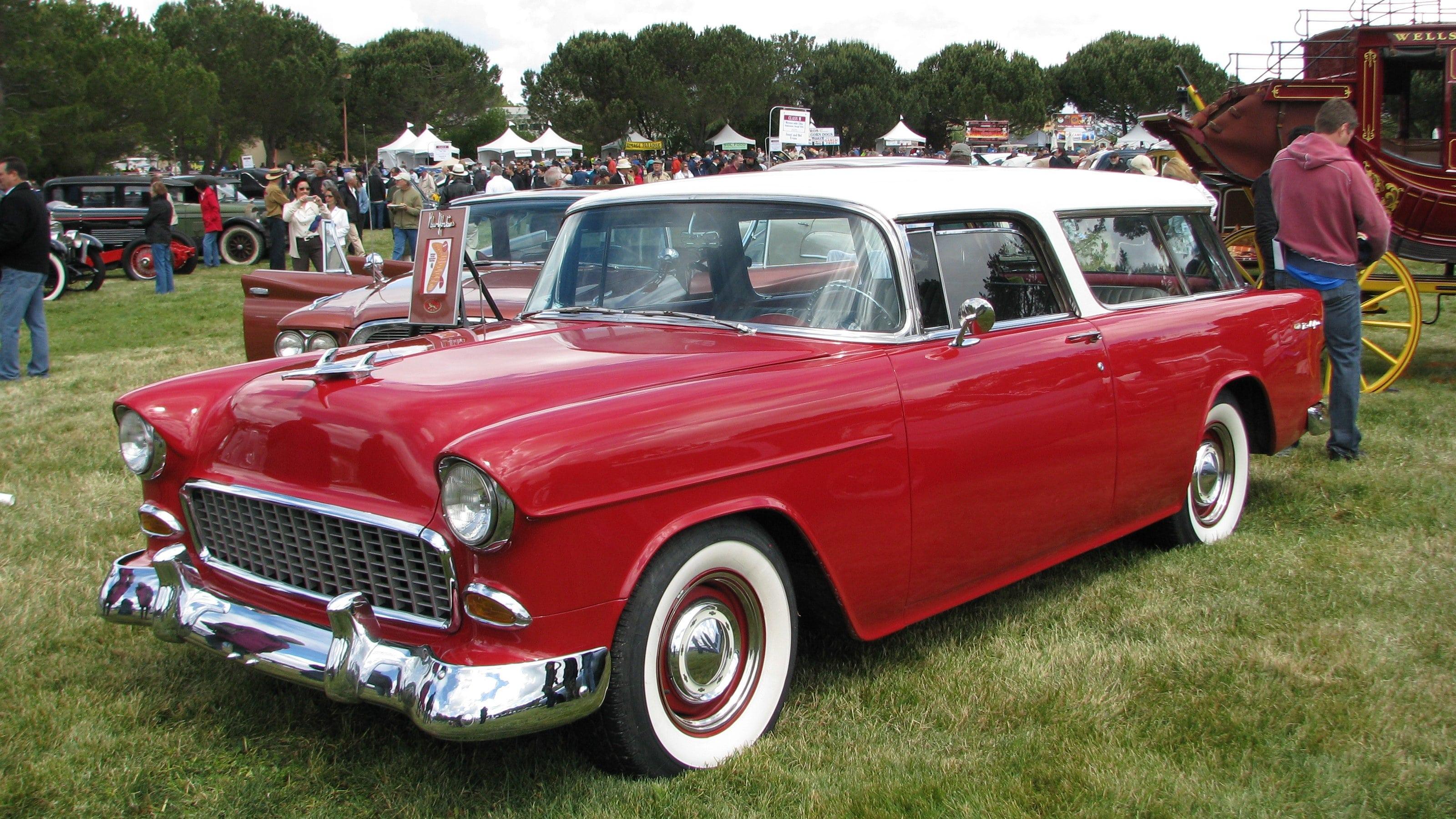 1955 Chevrolet Nomad Screensavers