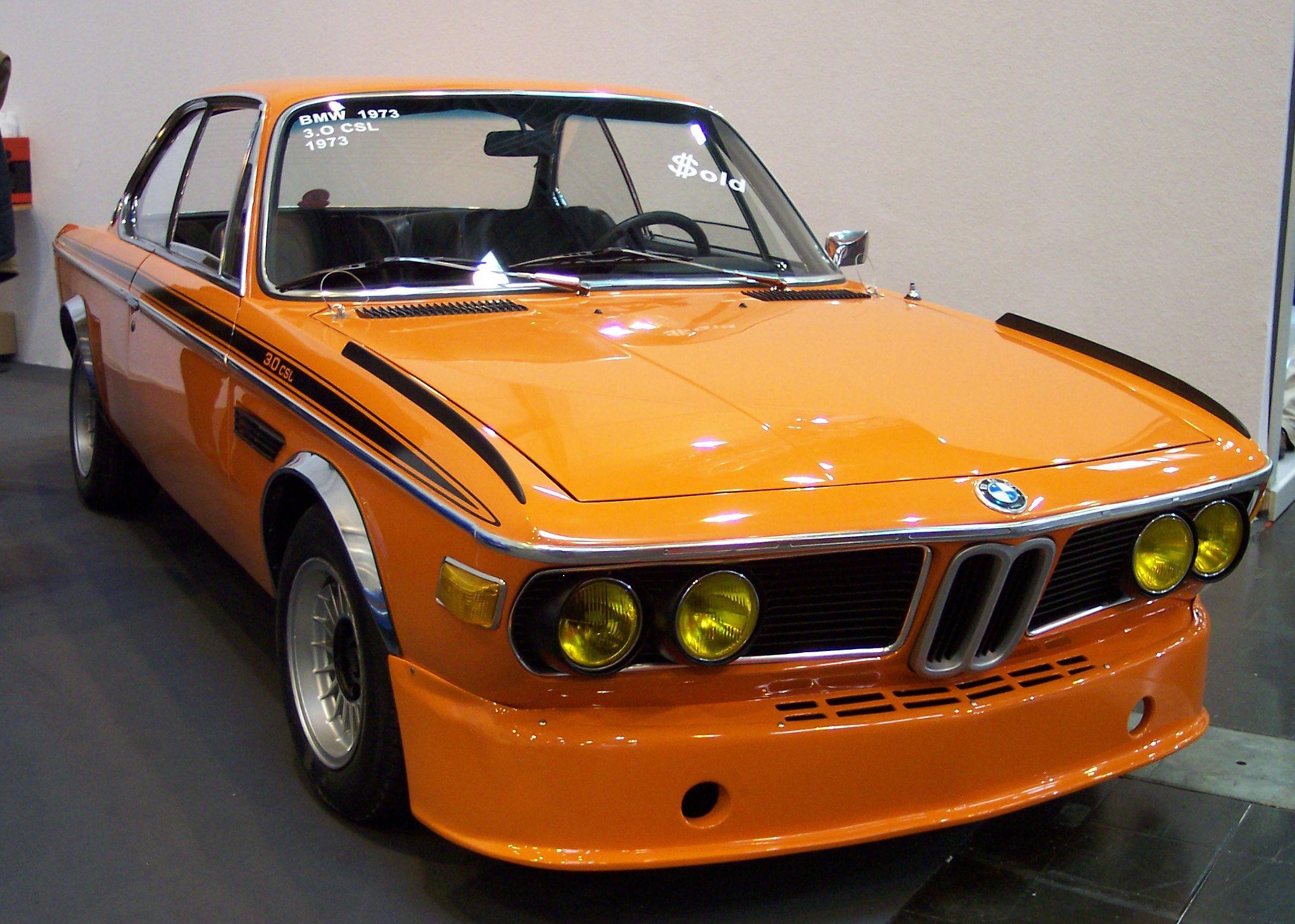 1973 BMW 3.0 CSi Screensavers