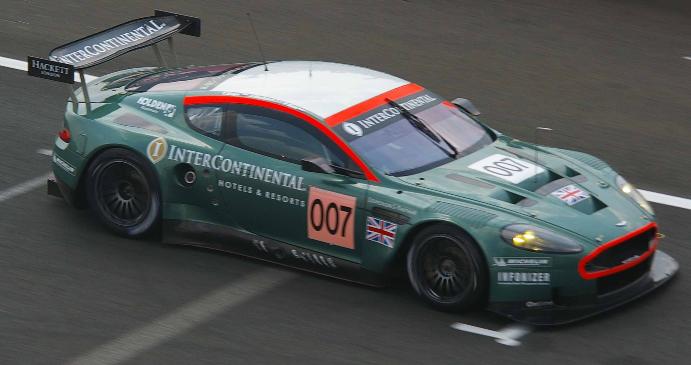 Aston Martin DBR9 Desktop wallpapers