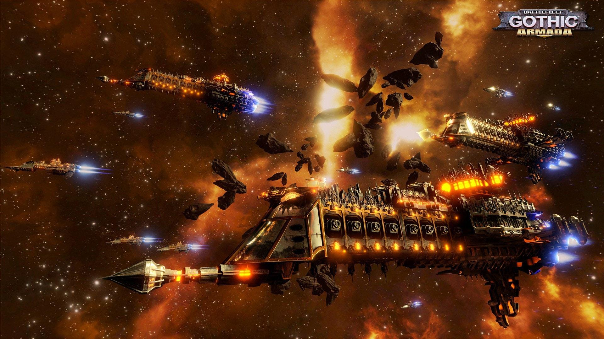 Battlefleet Gothic: Armada Desktop wallpapers