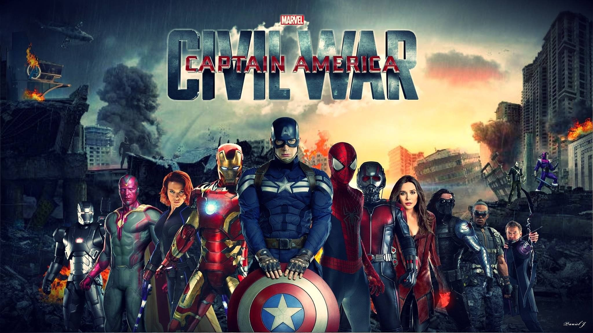 Captain America Civil War Hd Wallpapers 7wallpapers Net