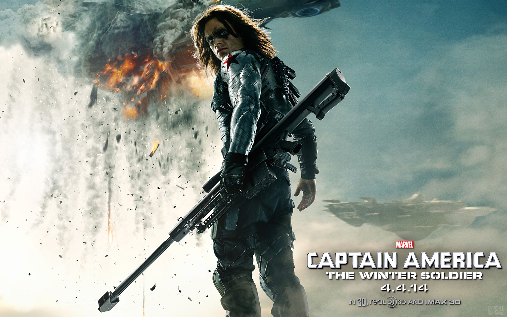 Captain America: The Winter Soldier Desktop wallpapers