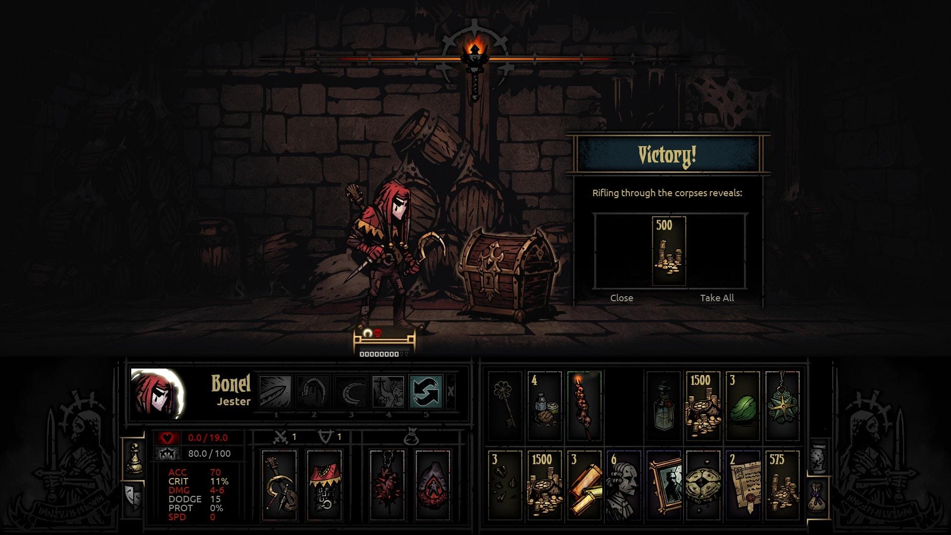 Darkest Dungeon: Jester Background