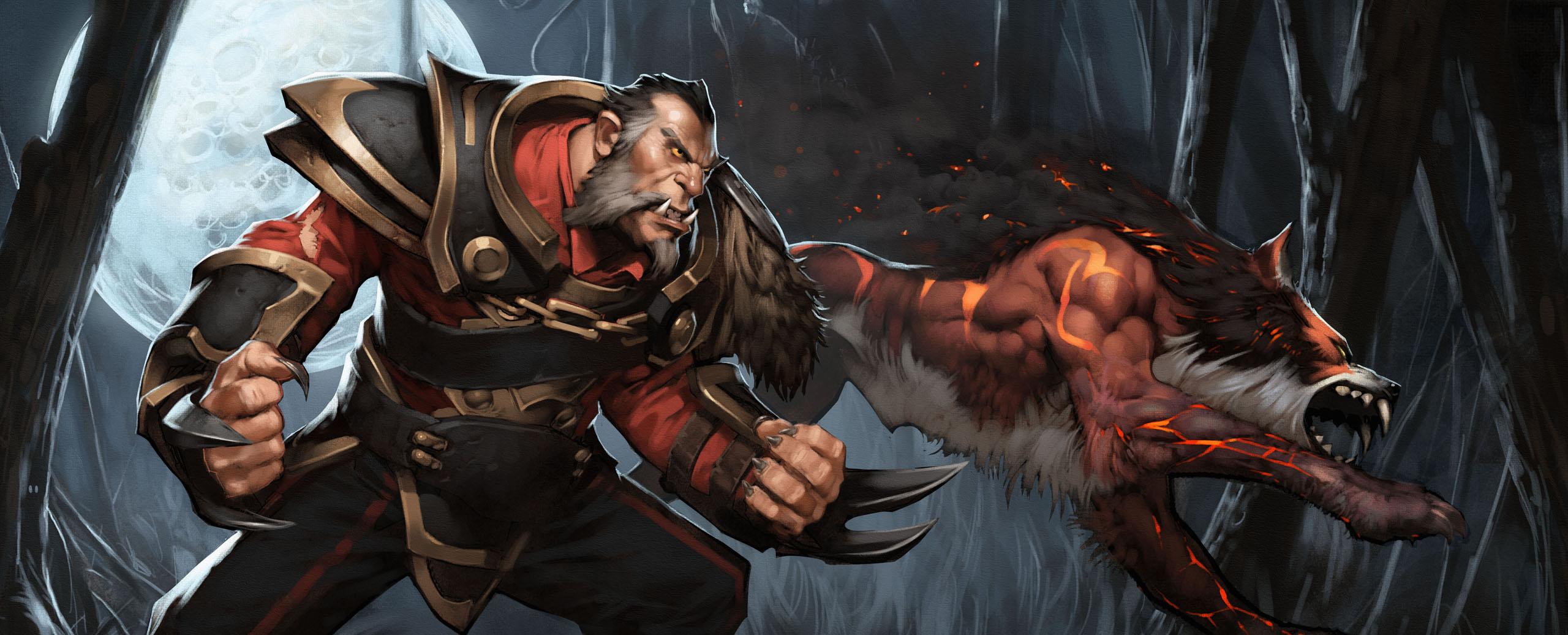Dota2 : Beastmaster Background