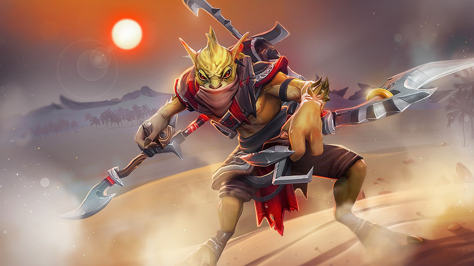 Dota2 : Bounty Hunter Desktop wallpapers