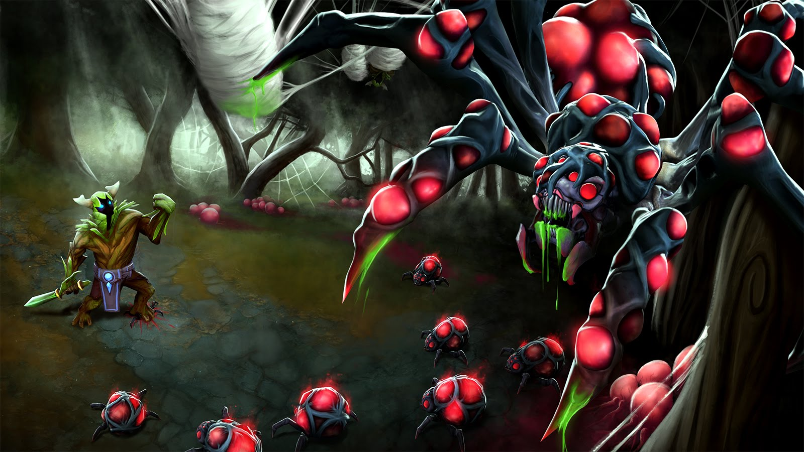 Dota2 : Broodmother Pictures