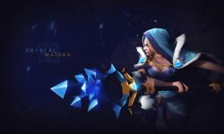 Dota2 : Crystal Maiden Desktop wallpapers