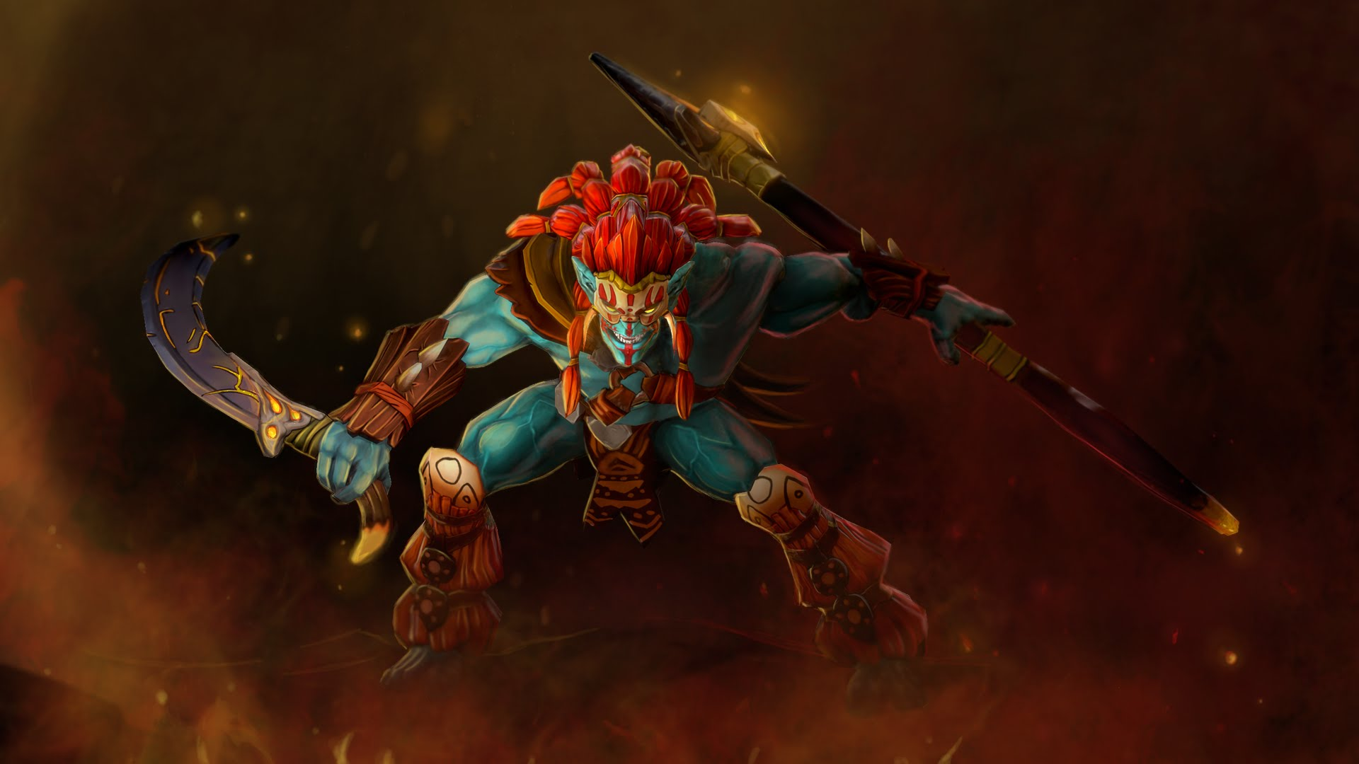 Dota2 : Huskar Desktop wallpapers