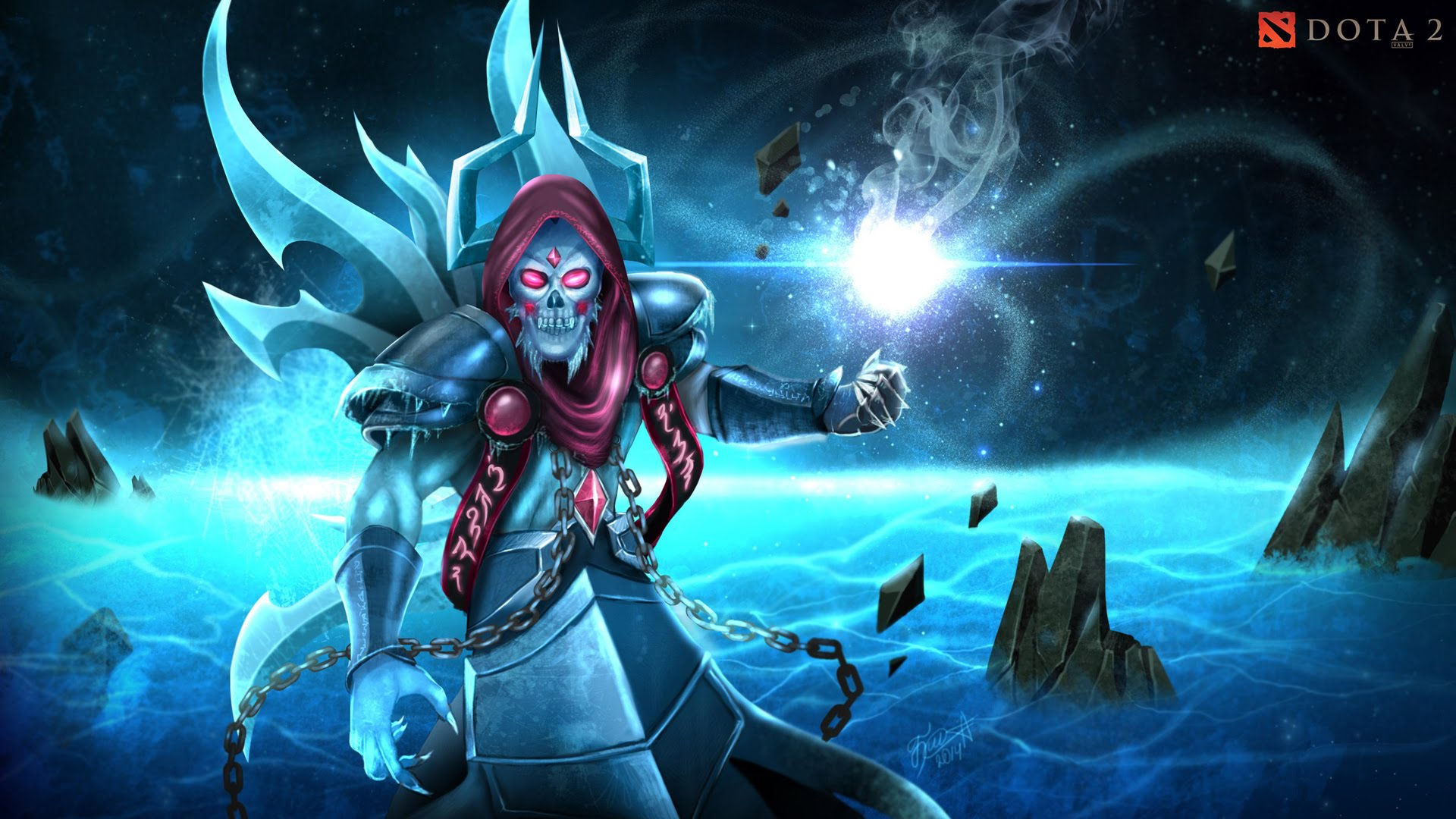 Dota2 : Lich Background