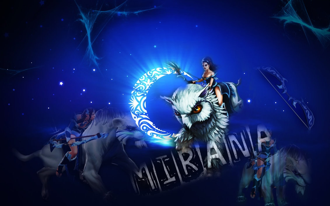 Dota2 : Mirana Desktop wallpapers