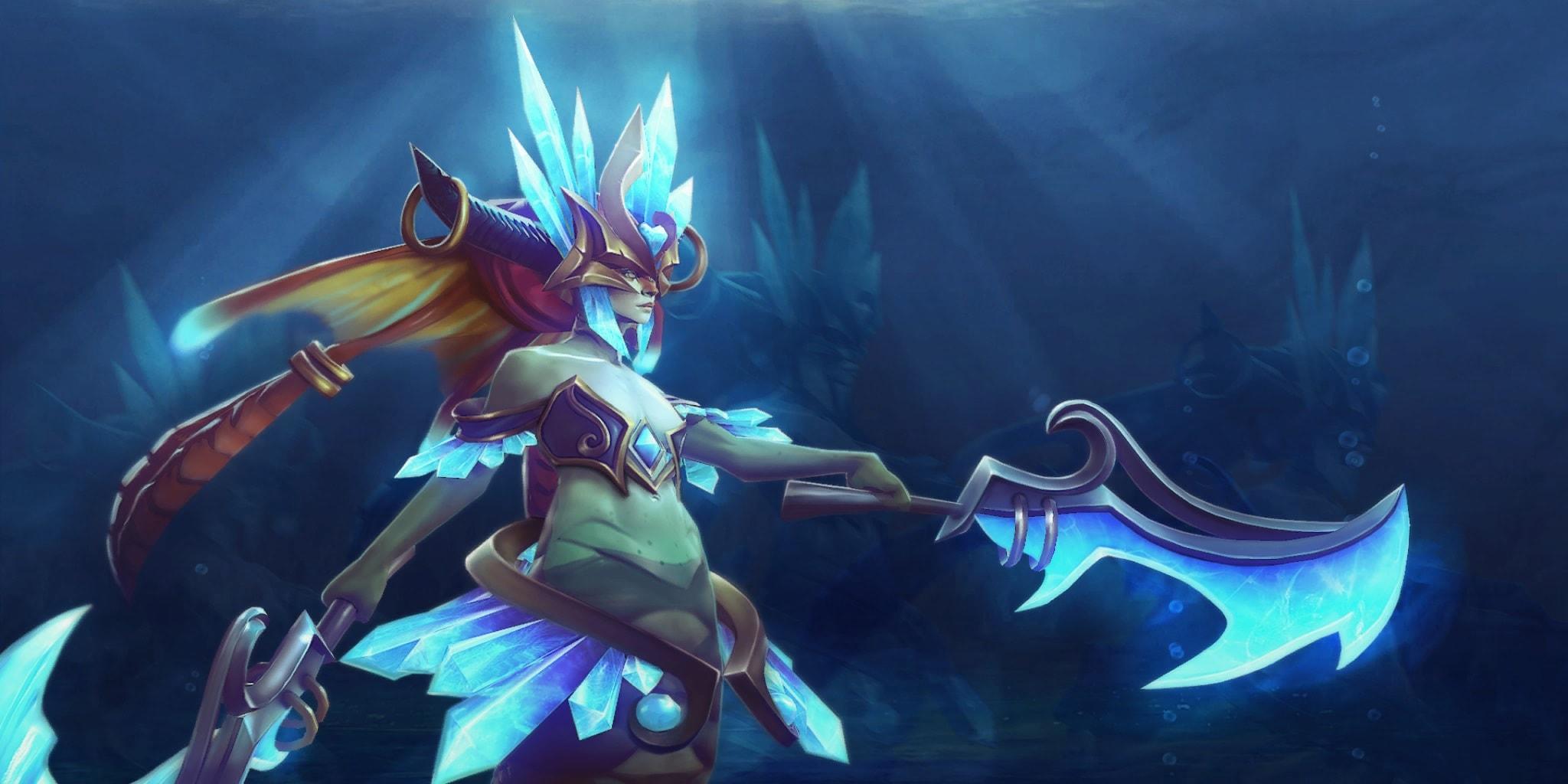 Dota2 : Naga Siren Desktop wallpapers