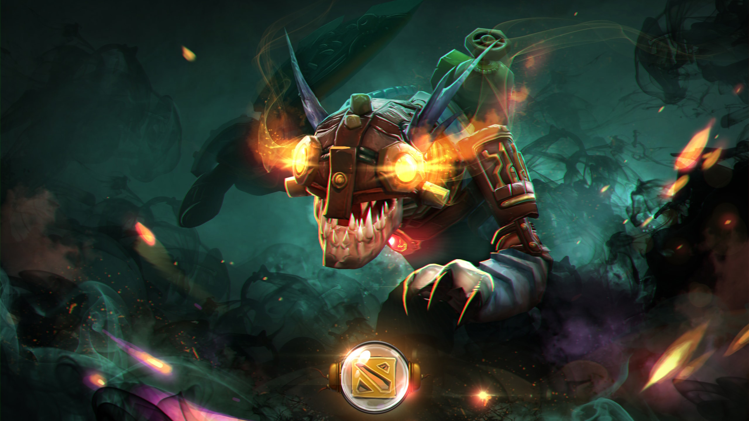 Dota2 : Slark Background