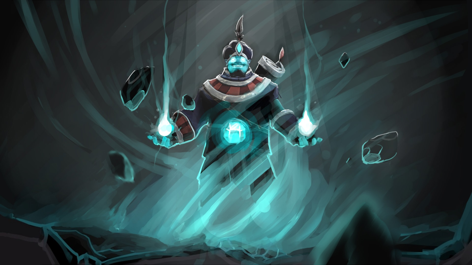 Dota2 : Storm Spirit Desktop wallpapers