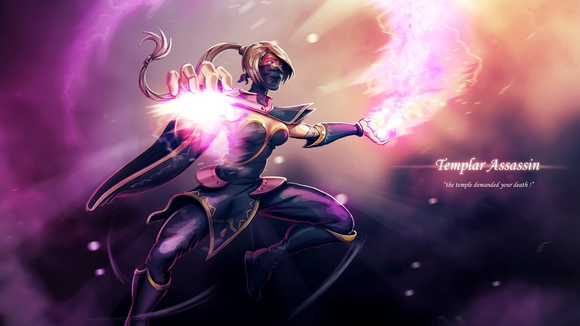 Dota2 : Templar Assassin Desktop wallpapers