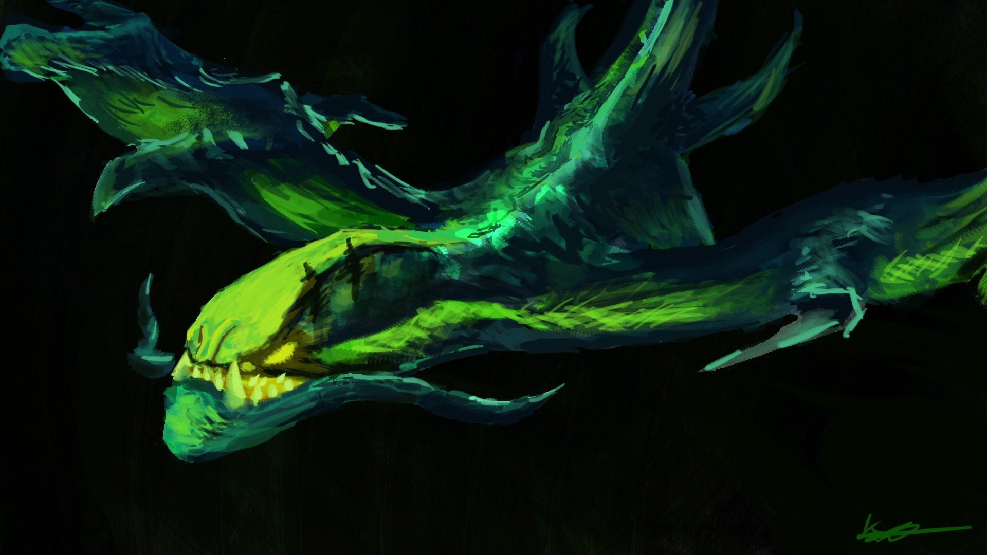 Dota2 : Viper HQ wallpapers