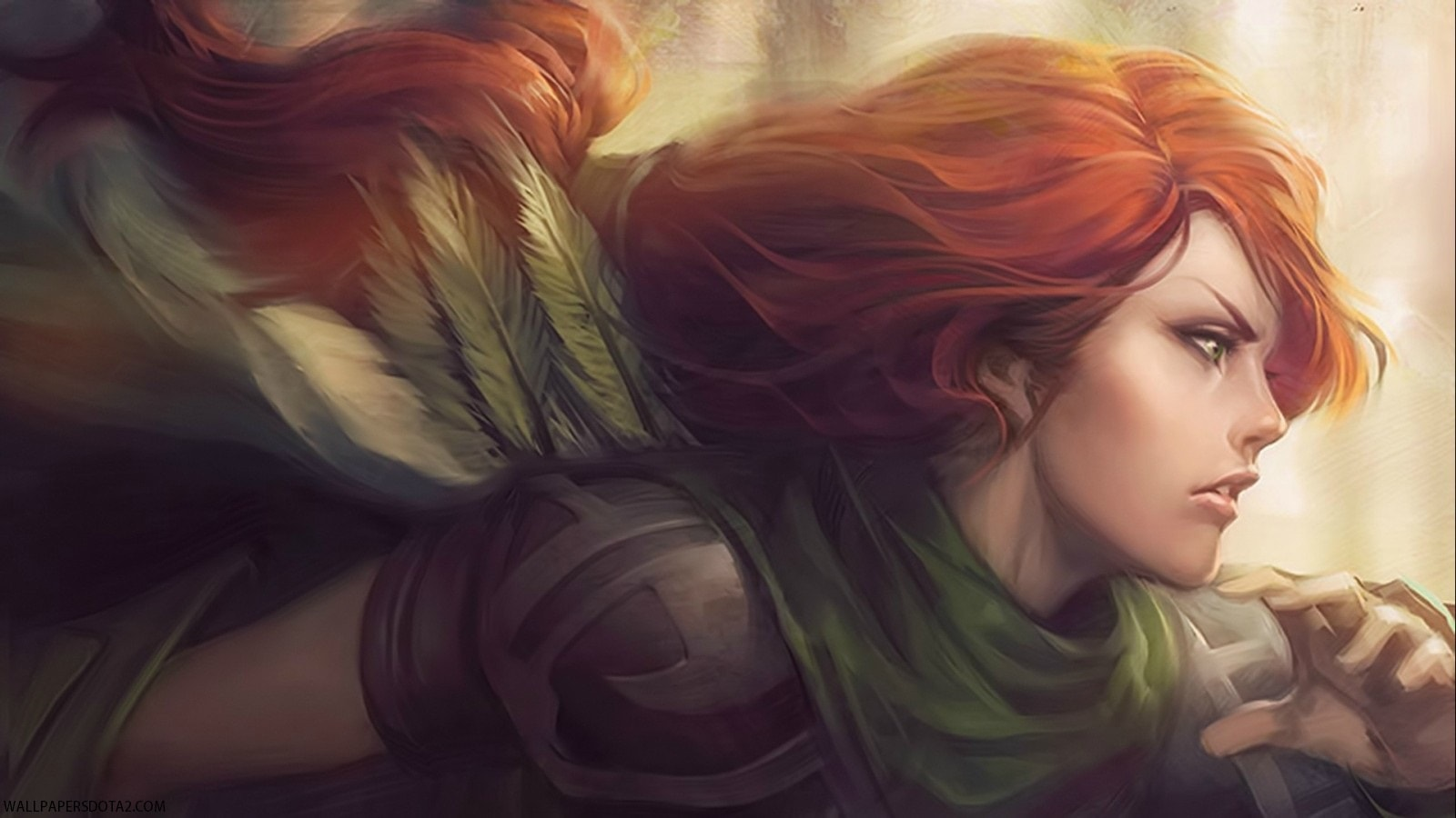 Dota2 : Windranger Desktop wallpapers