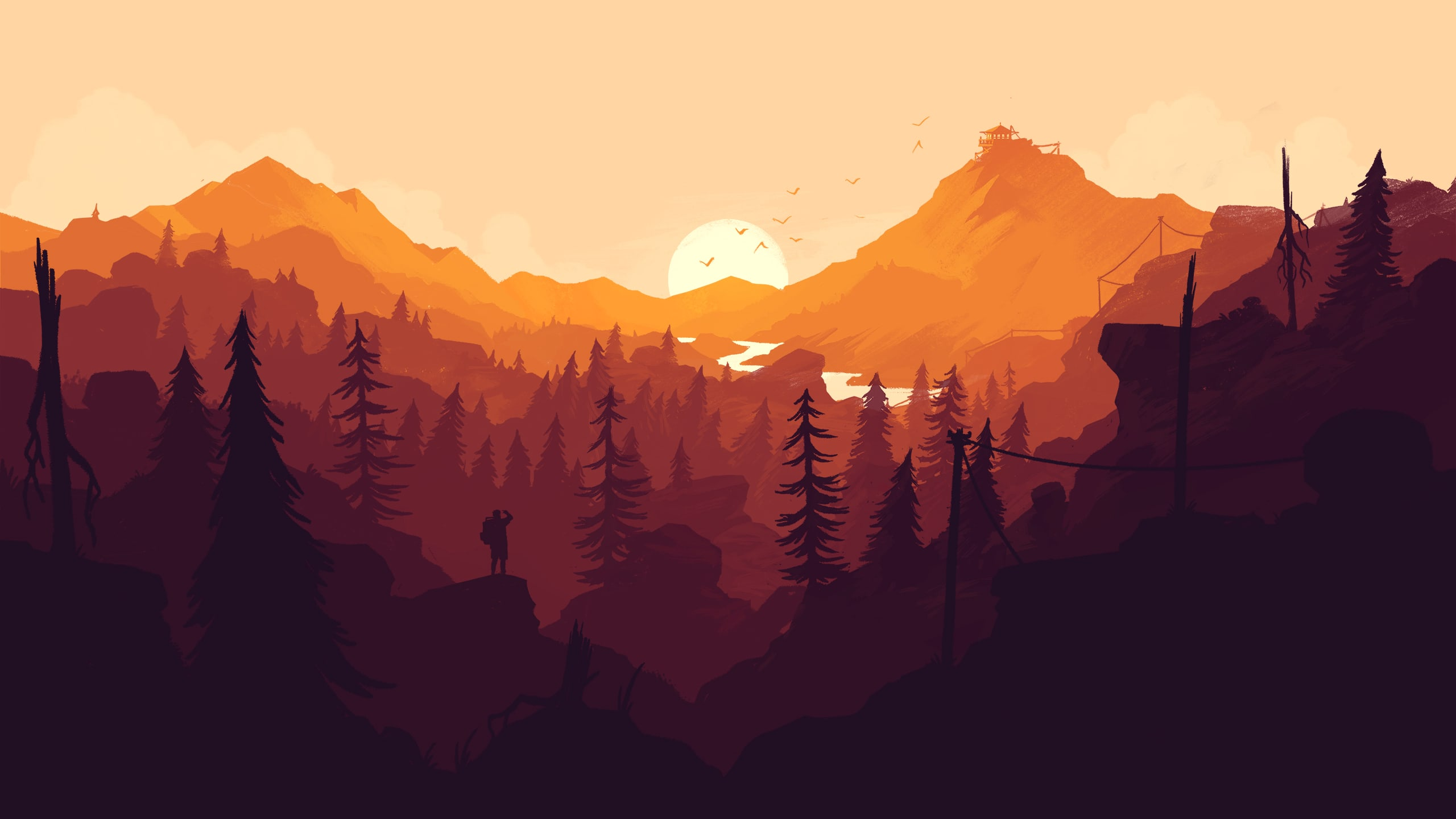 Firewatch Desktop wallpapers