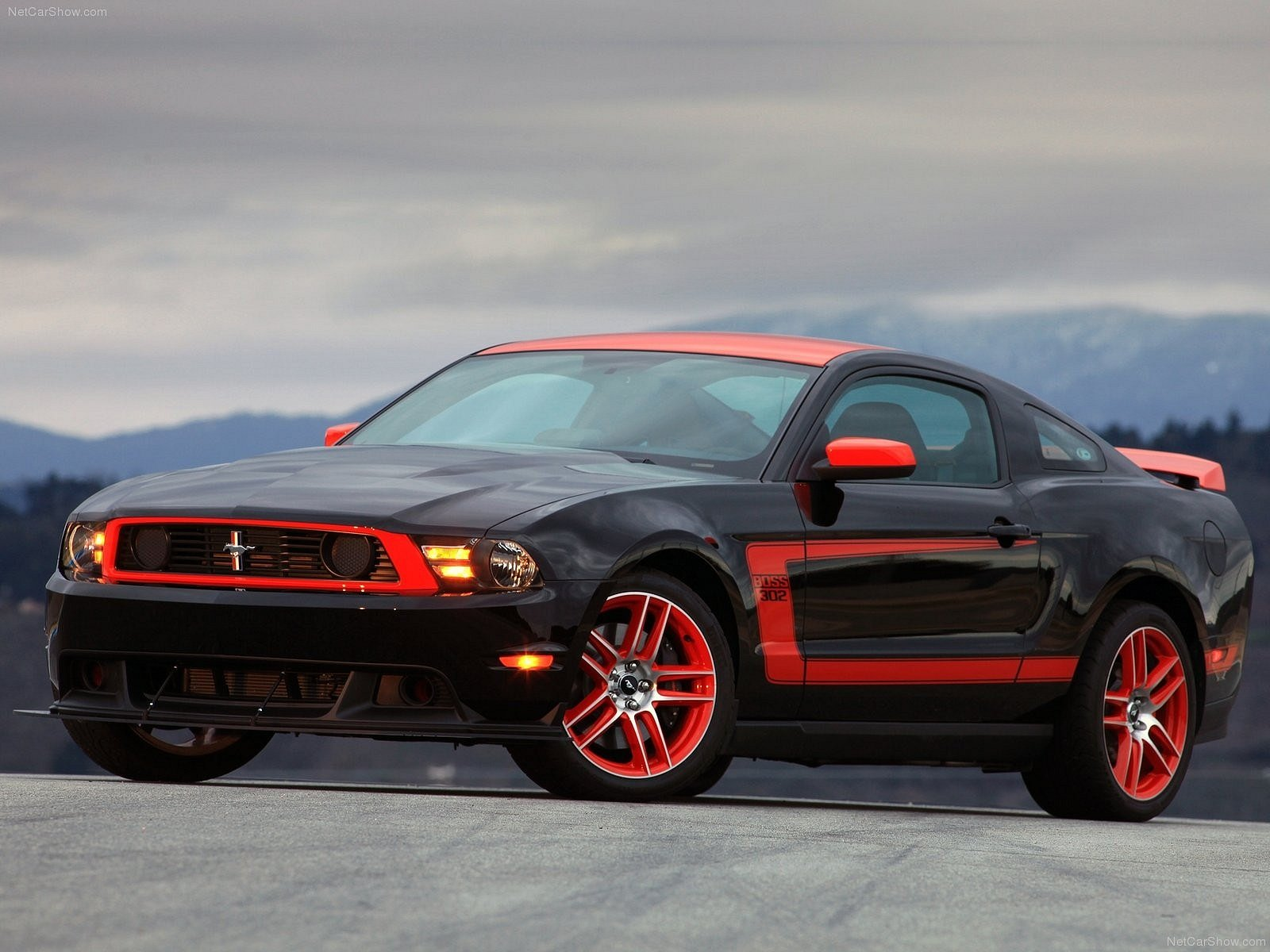 Ford Mustang Boss 302 Laguna Seca Desktop wallpapers