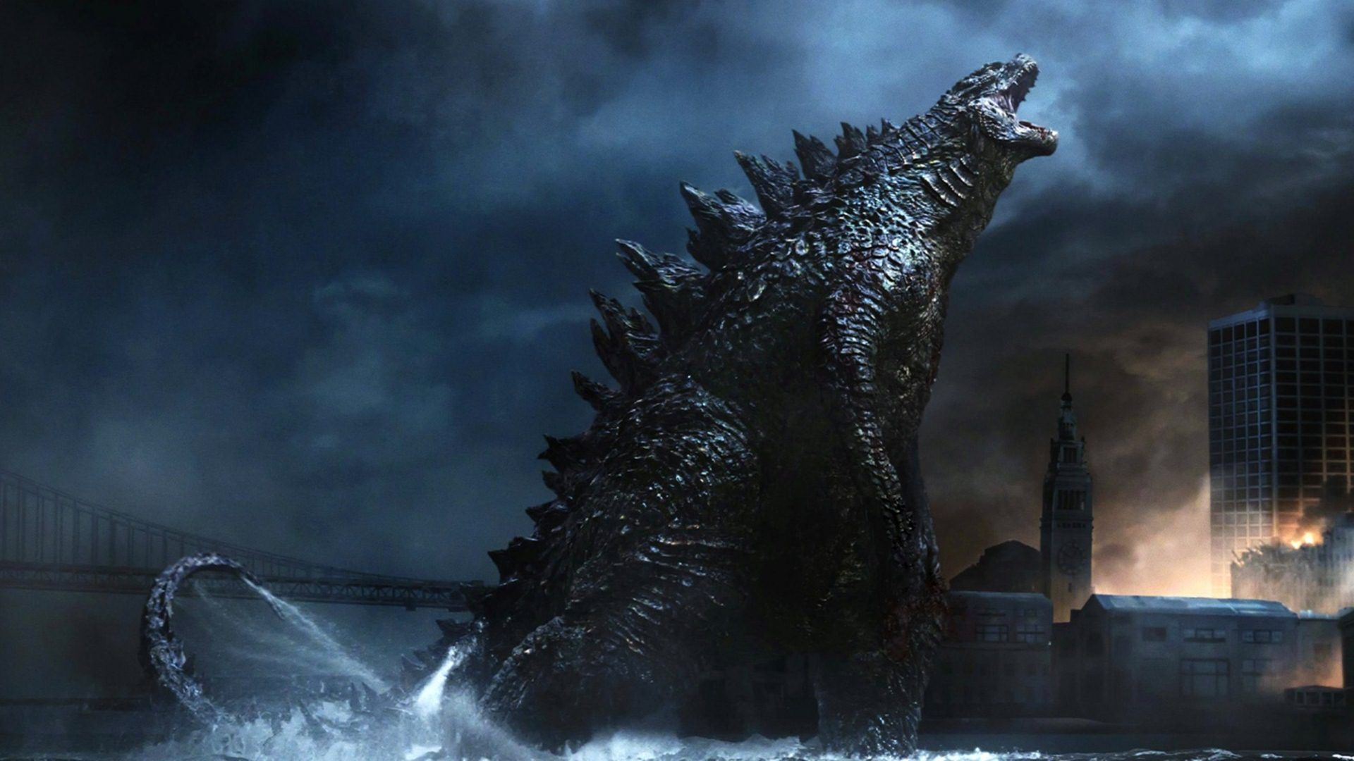 Godzilla 2014 Desktop wallpapers