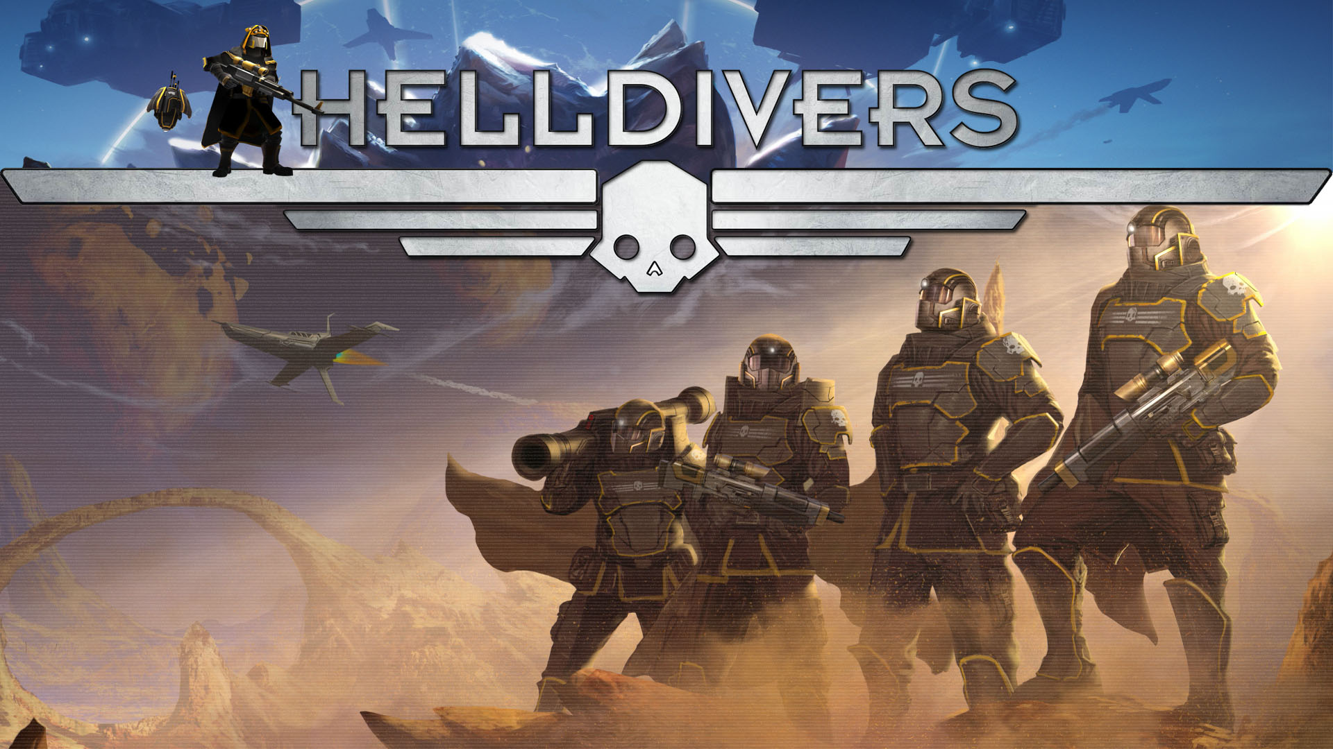 Helldivers Hd Wallpapers 7wallpapers Net