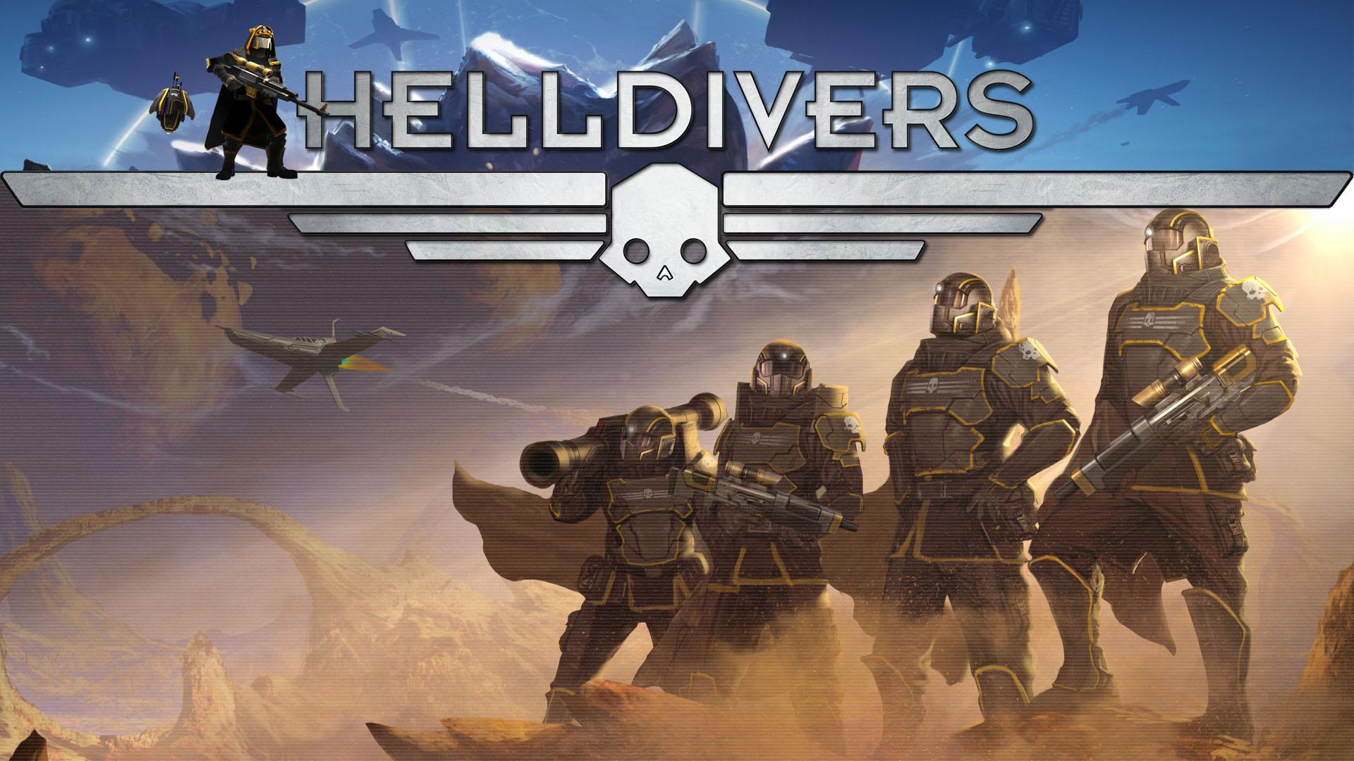 Helldivers Desktop wallpapers