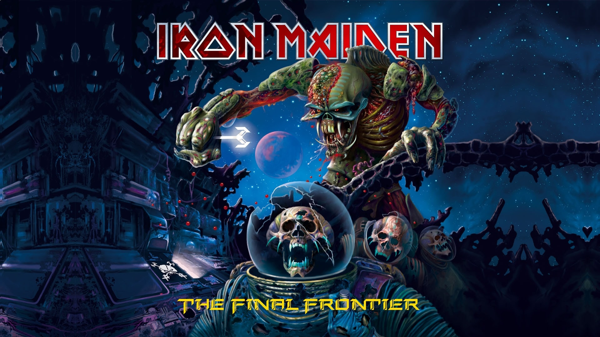 Iron Maiden Hd Wallpapers 7wallpapers Net