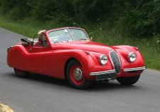 Jaguar XK120 Screensavers