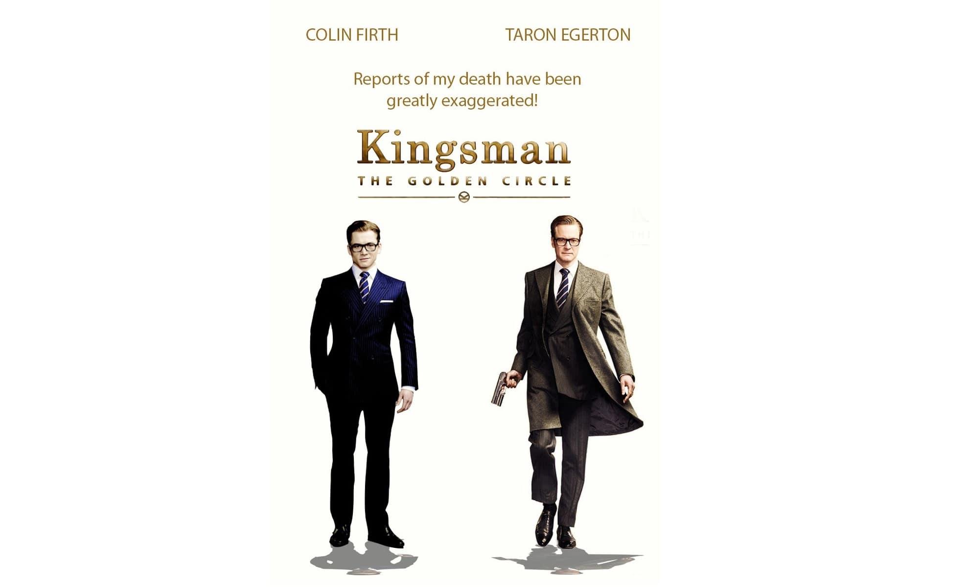 Kingsman: The Golden Circle Screensavers