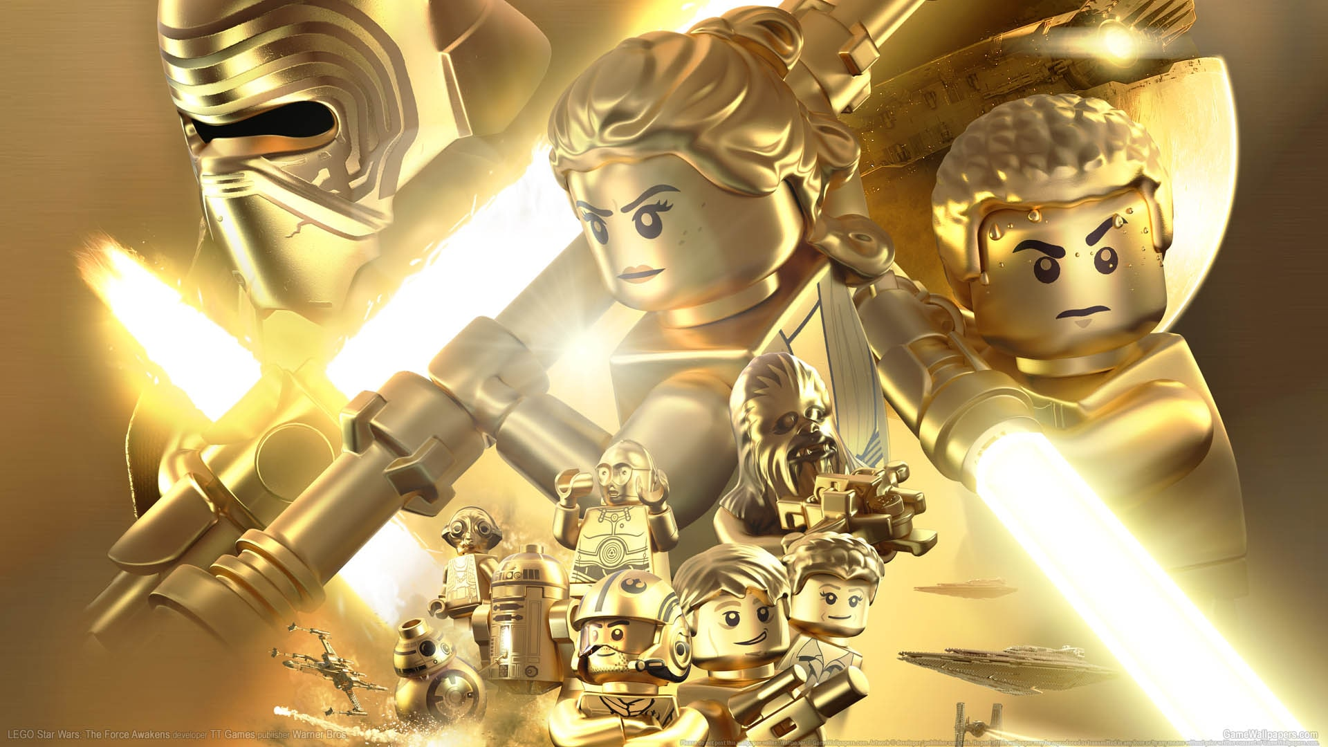 LEGO Star Wars: The Force Awakens Desktop wallpapers